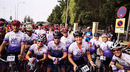 Más de 200 ciclistas en la Ciclodeportiva de Níjar