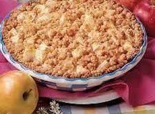 Dutch Apple Pie (crumb Crust)