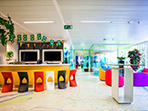Google's Europe Office in Brussels, Belgium.