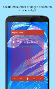 Simple Notes Widget 6.0.1 [Mod + APK] Android 2