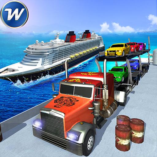 Offroad Transport Truck Game Cruise Ship Simulator (game)