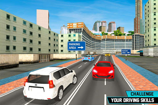 Prado Car Parking City Drive : Free Games 1.0 screenshots 8