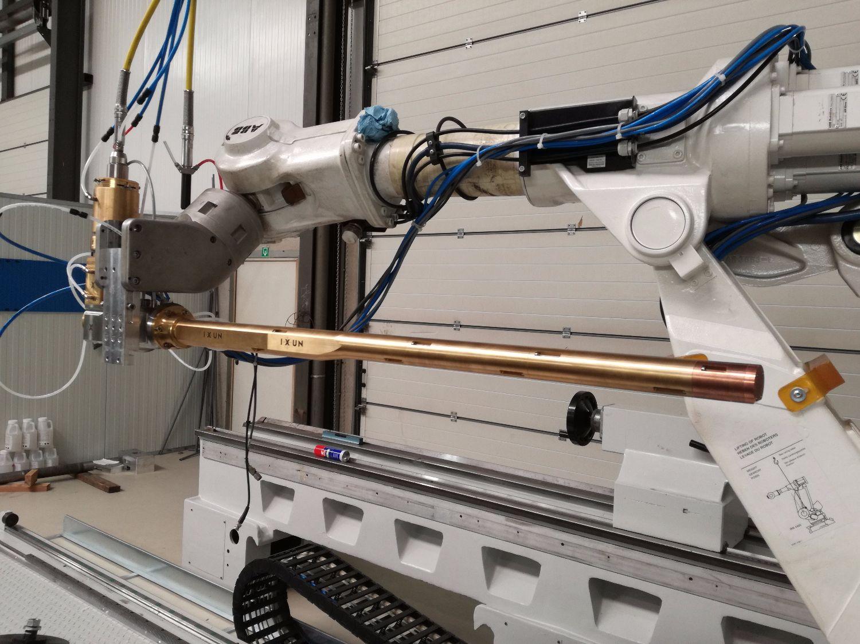 Intern Laser Cladden met verhoogde productiviteit tot 3 meter diepte