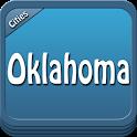 Oklahoma Offline Map Guide icon
