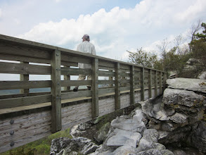 Photo: Bridge out to Big Schloss