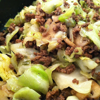Hamburger Cabbage Stir-Fry