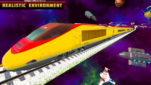 Bullet Train Space Driving screenshots 2