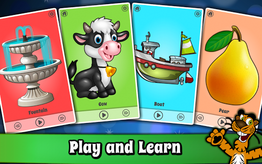 Baby First words Flashcards - Kids Learning games screenshot 1