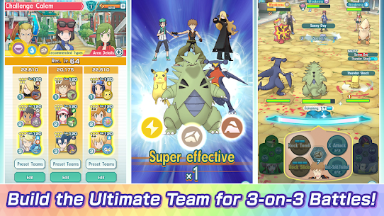 Pokémon Masters EX Apk Mod v2.0.0 +OBB/Data for Android. [2020] 2