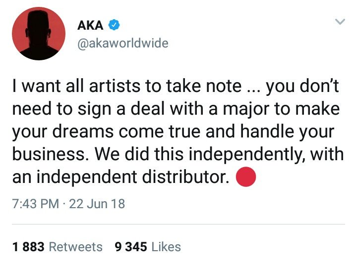 "AKA Say Shane Eagle Dey Beef Am Because Him No Gree Feature On ""Yellow"" Album"