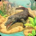 Crocodile Family Sim Online icon