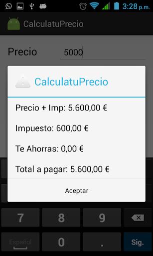 玩免費購物APP|下載CalculaTuPrecio2 app不用錢|硬是要APP