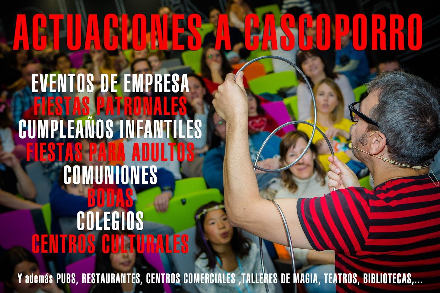 Miles de actuaciones por toda España
