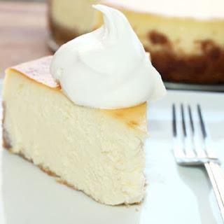 Mile High Cheesecake.
