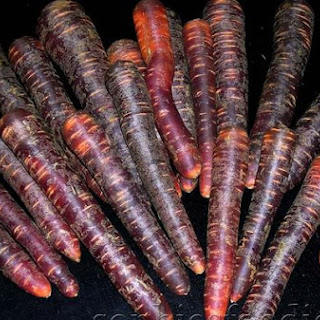 Purple Carrot Stoemp With Onion & Smoked Bacon