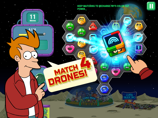 Futurama: Game of Drones (Mod Money/Lives/Ad-Free)
