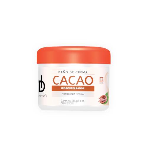 baño de crema hd cosmetics cacao 240ml
