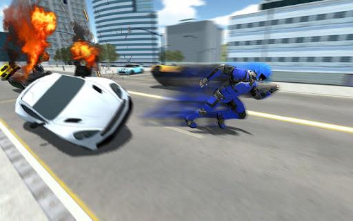 Super Light Speed Robot Superhero: Speed Hero 1.3 screenshots 2