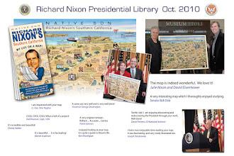 Photo: Promo for Biography map of Richard Nixon