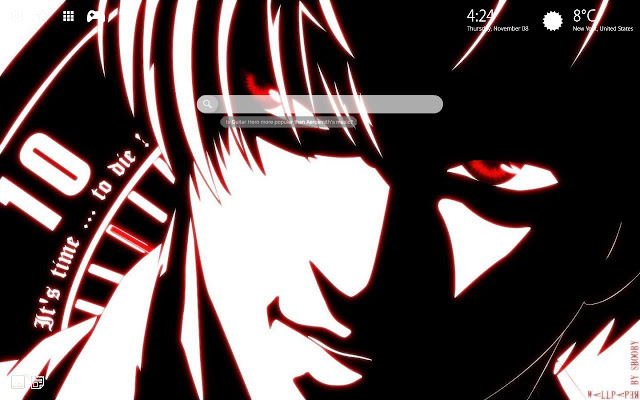Death Note Anime Wallpaper HD