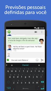 Teclado SwiftKey + Emoji: miniatura da captura de tela