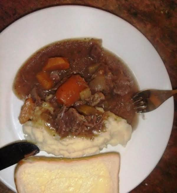 Slow Cooker Easy Beef Casserole Recipe