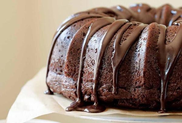 Insanely Chocolaty Chocolate Bundt Cake Recipe