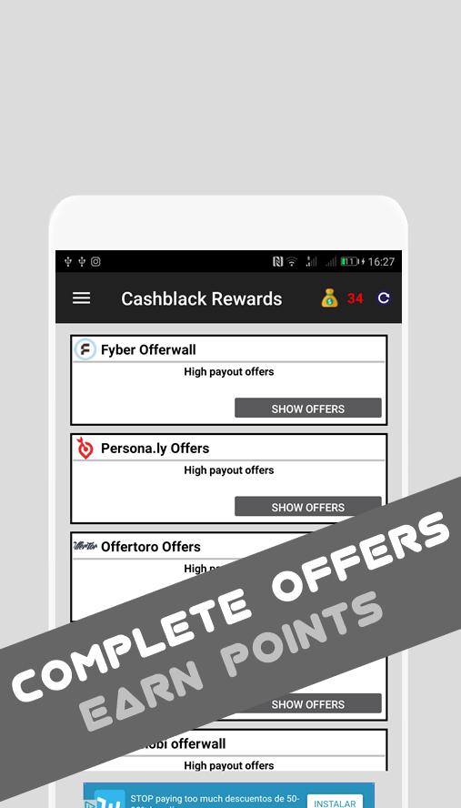 Cashblack Rewards App  - Earn free cash and gifts- screenshot