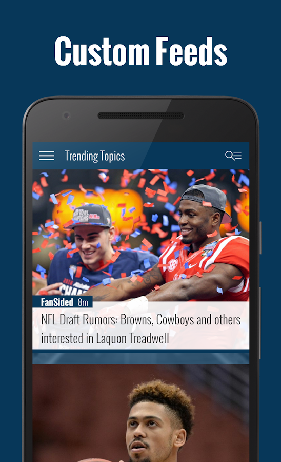 FanSided | Sports & Ent. News- screenshot