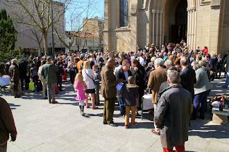Photo: Sortie de la messe