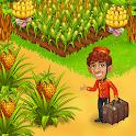 Farm Paradise - Fun farm trade game at lost island icon