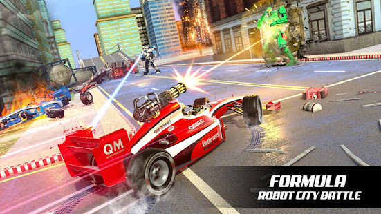 Flying Car Transform Robot Games Formula Robot Download