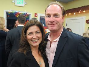 Photo: With Lisa Clark and her husband.