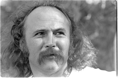 A picture of David Crosby.