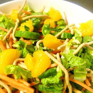 Simple Asian Salad.