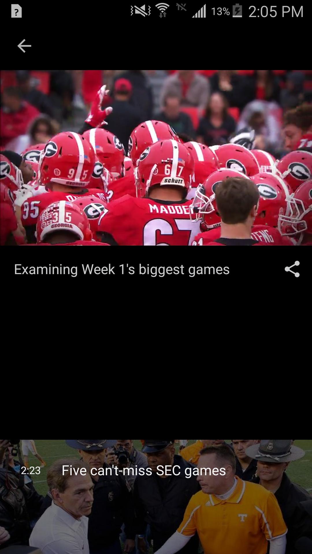 ESPN screenshot #3