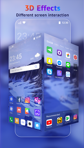 U Launcher Lite-New 3D Launcher 2020, Hide apps 2.2.27 screenshots 4