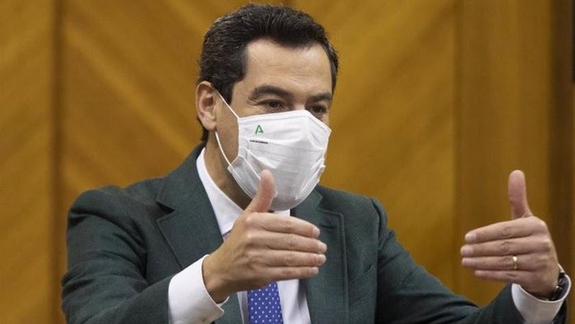 Juanma Moreno pide precaución en Semana Santa.