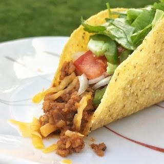 Vegetarian Tacos with TVP Recipe