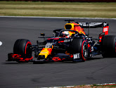 Max Verstappen voor hele fraaie race beloond met winst in 70th Anniversary GP