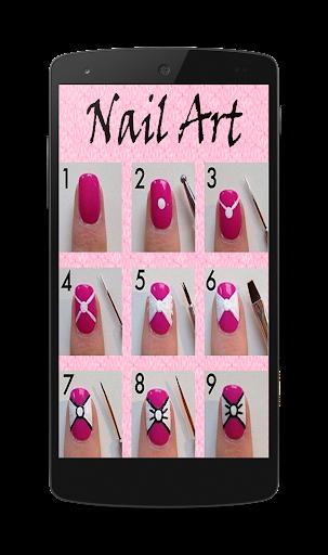 Nail Arts With Steps