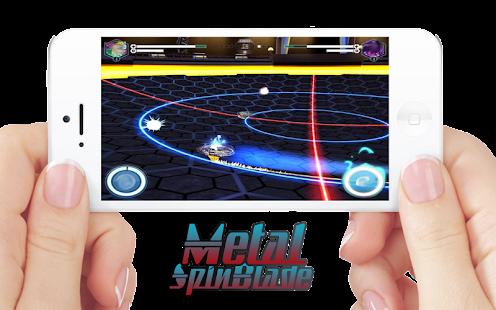 Spin Blade: Metal Burst Spin - náhled