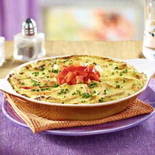 Creamy Potato and Onion Gratin