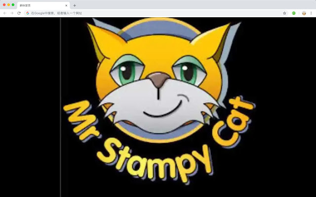 Stampy cat HD New Tabs Popular Cartoons Theme