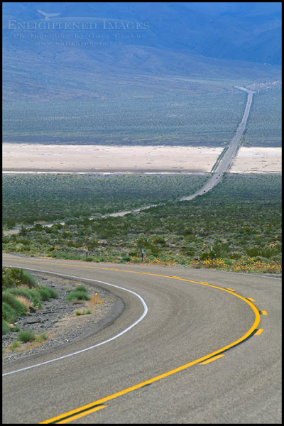 """Photo: Desert Highway in the Panamint Valley, California  Another image for the #PanoPoker theme """"Roads"""" curated by +Barry Blanchard & +Mike Spinak"""