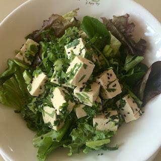 Sesame Citrus Tofu Salad.