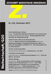Titelseite der Zeitschrift «Z.112».