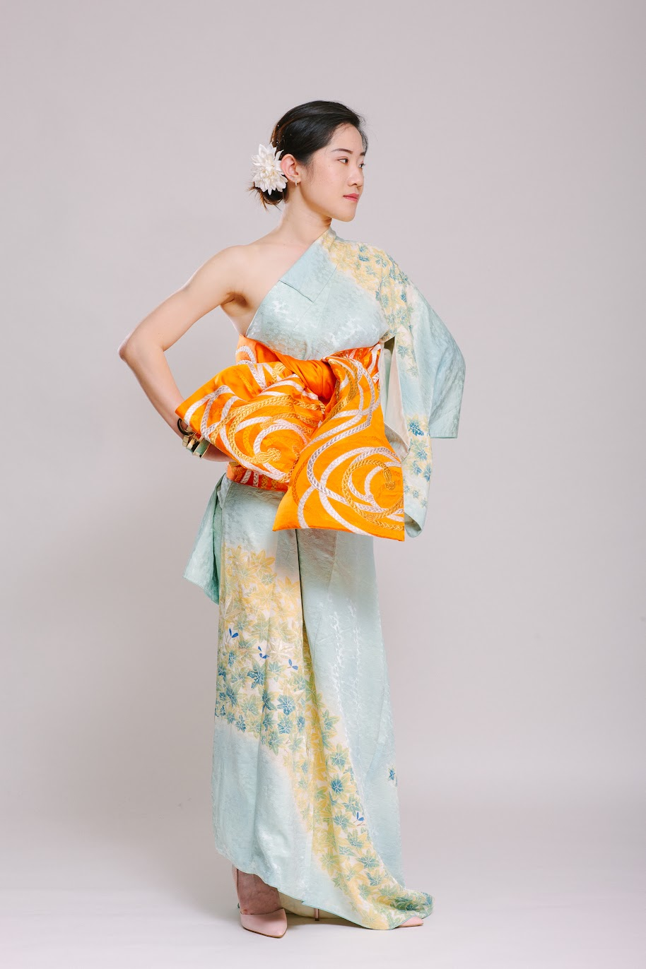 Michelle's Outfit at Kimono Styling Party - FAFAFOOM.com