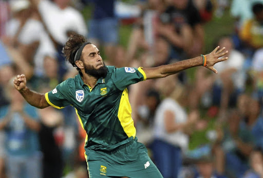Imran Tahir. Picture: REUTERS