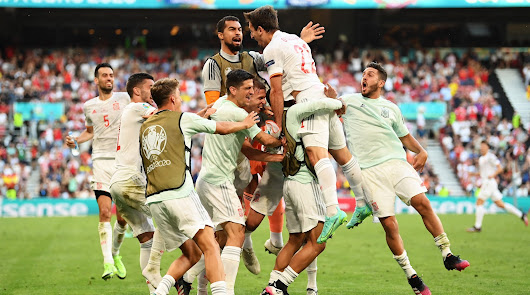 Croacia 3 - España 5: Y el héroe de la Roja fue Álvaro Morata